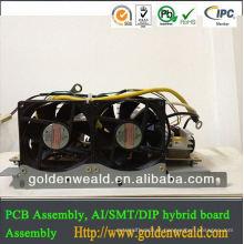 conjunto do PWB para o controlador do fogão de indução Fabricante profissional da placa de circuito impresso