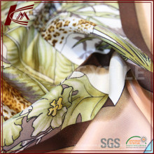 Tecido de sarja de seda de impressão digital