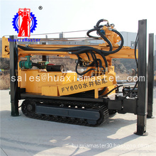 FY600 pneumatic crawler drilling machine /deep water well fast penetration fast / high efficiency hydraulic water well drill