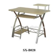 Cadre en métal pour table d'ordinateur en bois pour la maison