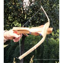 flèches d'arbalète de sport en bois de porcelaine
