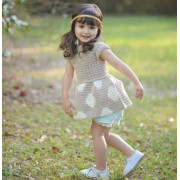 Crochet Sweater Pattern Girls fashion kids clothes