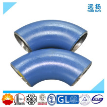 Codo de tubo de acero de aleación de alta calidad soldada