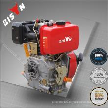 Bison China Zhejiang Fábrica Venda Directa Piston Diesel Motor Único Cilindro Diesel Motor Jiankui