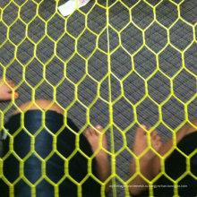 PVC покрыл Шестиугольное плетение провода