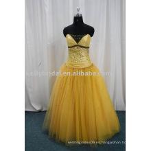 2012 vestidos perfectos del baile de fin de curso de Tulle del vestido de bola
