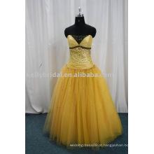 2012 Vestido de baile perfeito tulle sweetheart vestidos de baile