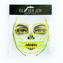 New Arrival Carnival Festival Party Diamond Body Sticker Jewelry Rhinestone Eye Sticker Adhesive Crystal Makeup Face Jewel