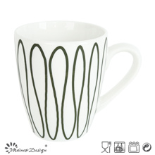 Sticker de géométrie de luxe simple Imprimer une tasse de 10 oz