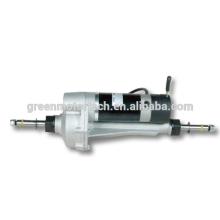 différentiel essieu arrière moteur transaxle dc 48 volts pour scooter de mobilité