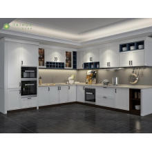 Simple European Style Melamine Kitchen Cabinet