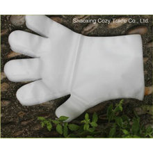 Hot Sale Disposable White Transparent LDPE Glove