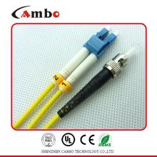 Perda de inserção baixa LC-ST Fiber Patch Cord em redes de área local