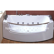 White Acrylic Sanitary Whirlpool Massage Bathtub (OL-664)