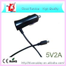 5V1A & 5V2A Colorized Modische mobile USB-Datenkabel Auto-Ladegerät für Samsung