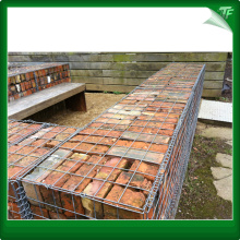 PVC-coated wire Gabion baskets