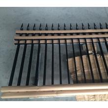 Алибаба дешевые две рельсы алюминиевые панели загородки