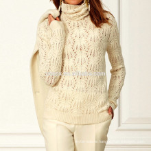 15PKCAS56 Allover Embroidered cashmere sweater pullover