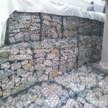 paredes de retenção de malha de gabião