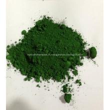 Oxyde de chrome vert pour blocs de verrouillage en béton