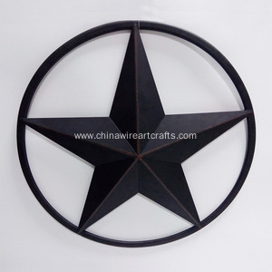 Metal 24 Inch Star Home Decor