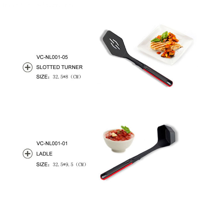 Nylon kitchen tools set