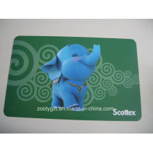 Lovely Animal Printing Plastic PP Table Placemat