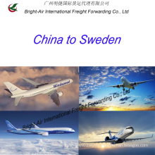 Air Freight Forwarding Agent Top Shipping Company From China Mainland to Sweden