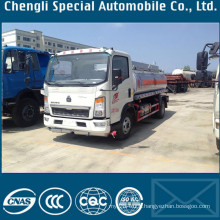 Sinotruk HOWO 4X2 15000liters Oil Bowser Truck