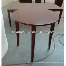 Mesa de café pequena e redonda mais barata C1049