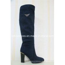 Comfort Fashion Saltos altos Mulheres Winter Warm Boots