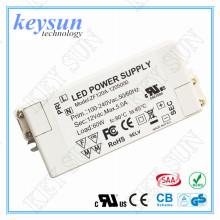 Conducteur à courant constant / tension constante 5v 12v 24v Alimentation LED pour bande de LED avec UL, CUL, TUV, SAA, CE