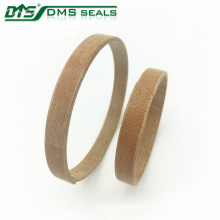 Guide strand open hard wear ring