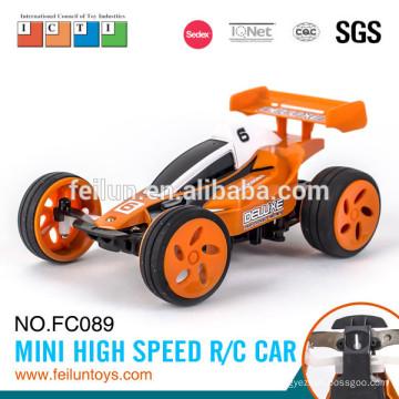 Горячие продажи 2.4G 4CH 11 см мини-высокая скорость бензин rc автомобиль с металлическим кольцом (с USB линия)