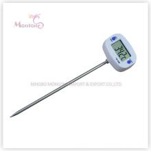 Termómetros de cocina de acero inoxidable para cocinar al aire libre (44 mm * 30 mm * 2 mm)