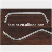 Perfil de aluminio ventanas correderas curva curvable cortina pole