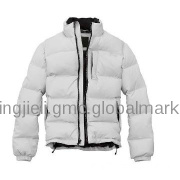 Man down coat space suit outdoor clothing