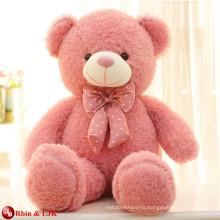 customized OEM design, pink teddy bear 100 cm