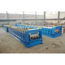 Metal Wall Panel / Floor Deck Roll Forming Machine φ100mm 33+11.5kw
