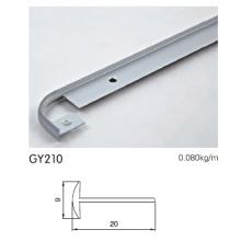 Perfil de alumínio perfil anodizado para cozinha