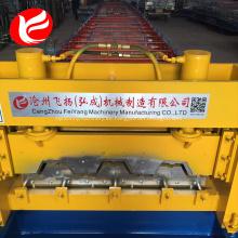 Máquina laminadora de chapa de acero para pisos