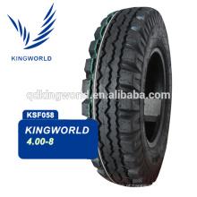 8PR pesados 4.00-8 moto pneu