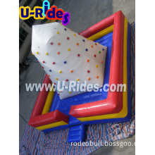 Square Mat Inflatable Climbing Hill for Carnival