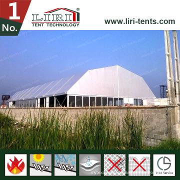 60 м. Liri Aluminium Огромная выставочная палатка для концерта