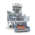Ruian high speed five layers co-extrusion PE film blowing machine