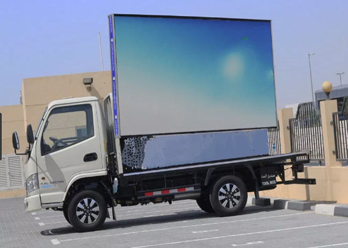 P8 Mobile LED Screen Outdoor Truck LED Displays