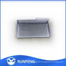 Peças de perfuração feitas sob encomenda personalizadas do Cnc da chapa metálica da elevada precisão