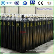 Nahtloser Stahlstickstoff-Gasflasche 40L (ISO9809-3)