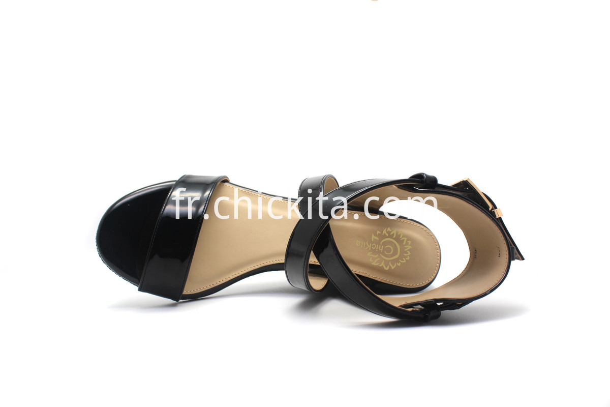 Ladies Classic Heels Wedge Sandal