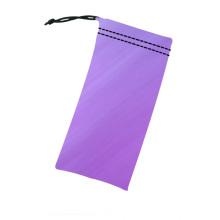 Caixas de embalagem multifuncionais para óculos de sol / bolsa de microfibra para óculos de sol